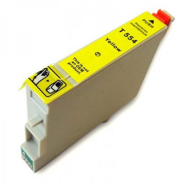 Cartus cerneala compatibil Epson T0554 - Yellow