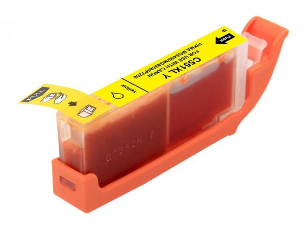 Cartus compatibil Canon CLI - 551XL Yellow (12 ml)