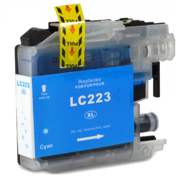Cartus cerneala compatibil Brother LC223 XL - Cyan