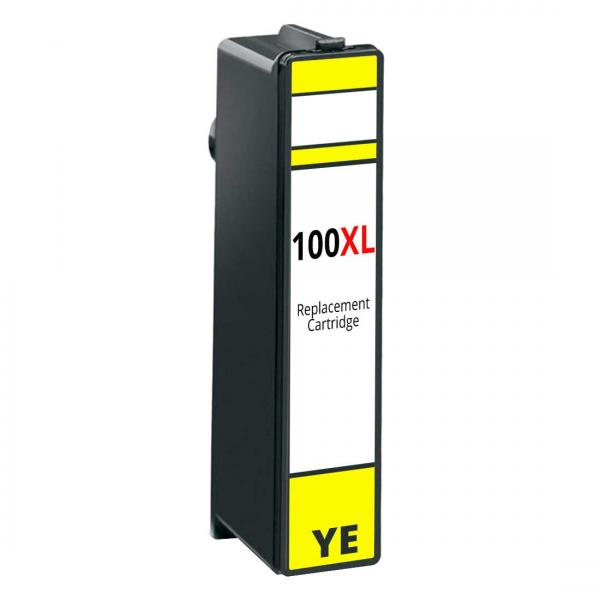 Cartus Cerneala Compatibil Lexmark 100XL 14N1071E - Yellow 0