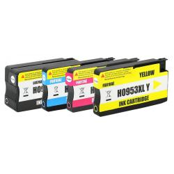 Set 4 Cartuse Cerneala Compatibile HP 953XL - (Black + Cyan + Magenta + Yellow)
