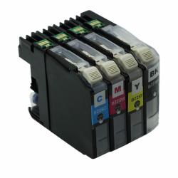 Set 4 Cartuse ERS Compatibile Brother LC227, LC225 XL (Black + Cyan + Magenta + Yellow)
